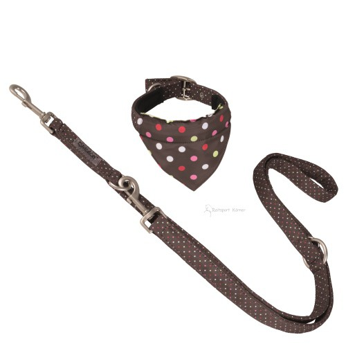 ESKADRON Hundehalsband & Leine Dots Nici