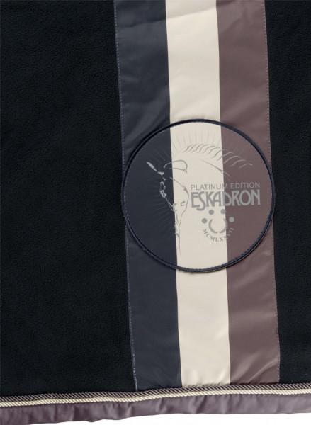 ESKADRON Platinum Abschwitzdecke Fleece Stripe